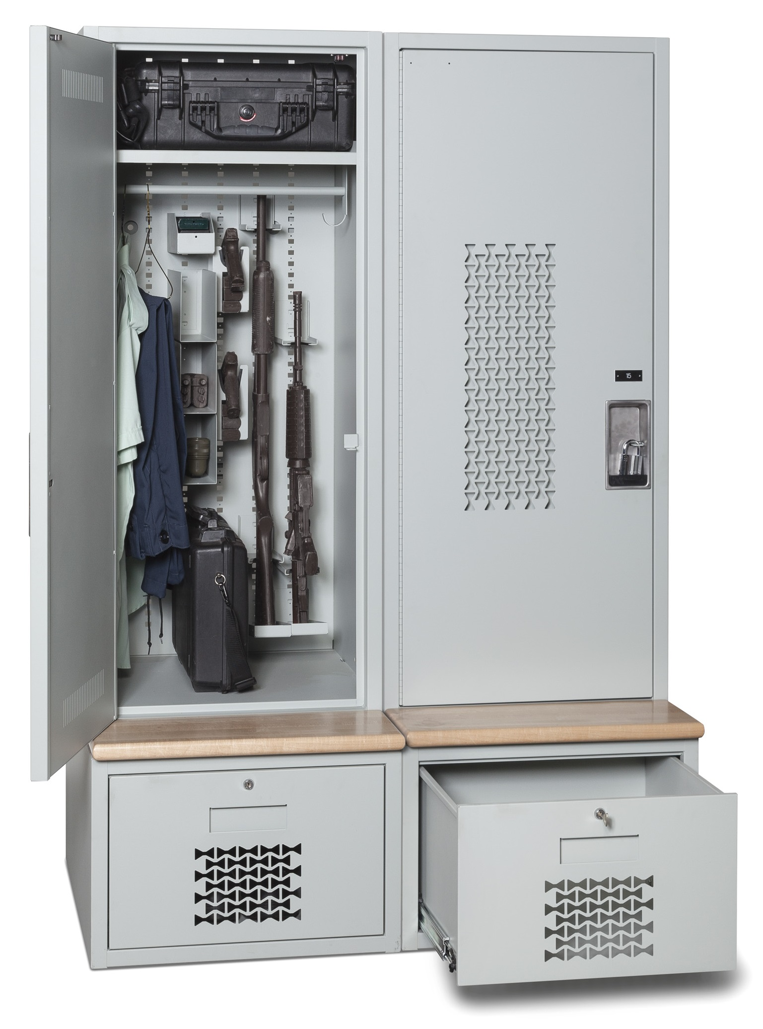 Tactical Locker Secure Western Storage