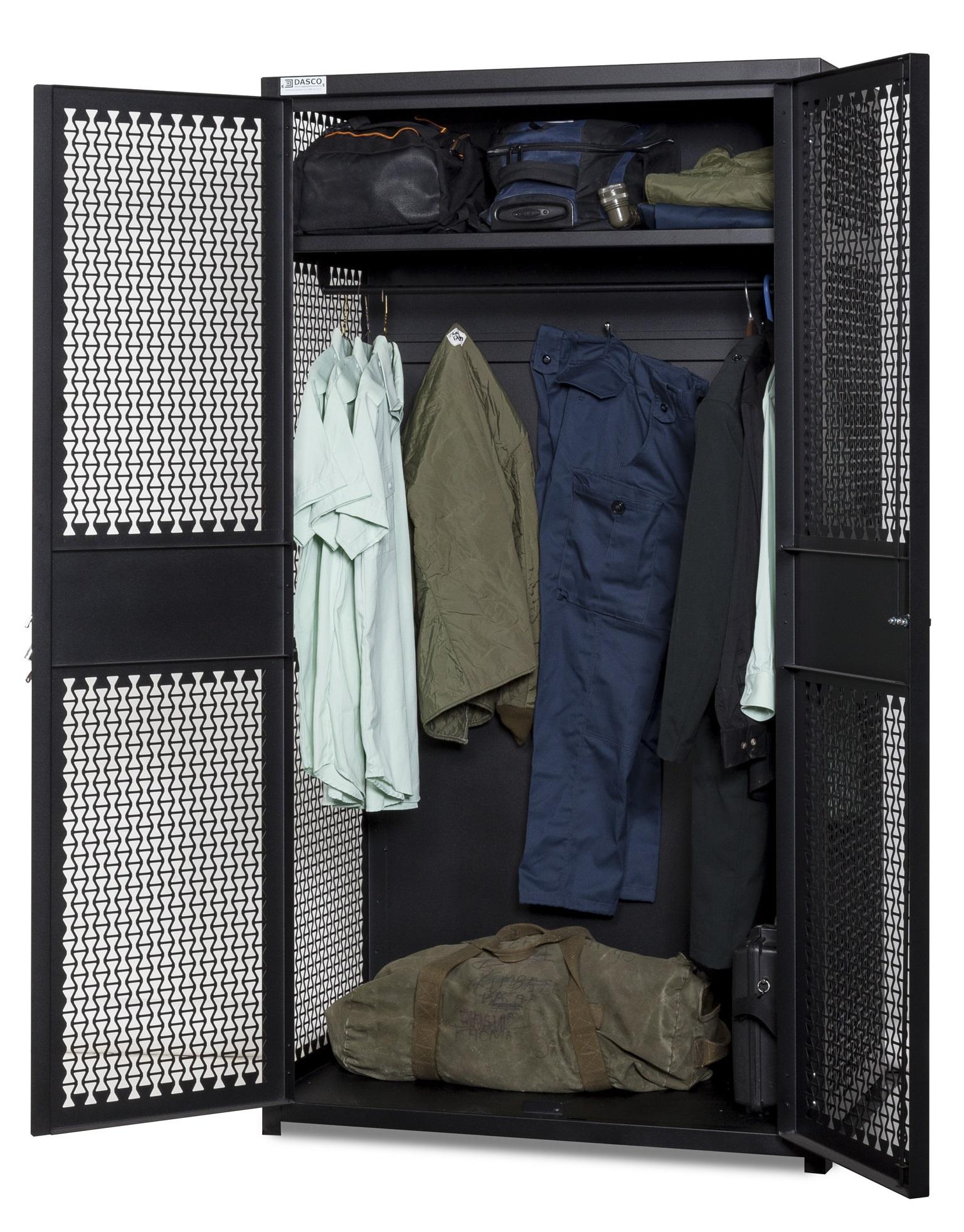Open TA-50 Storage Locker With Gear