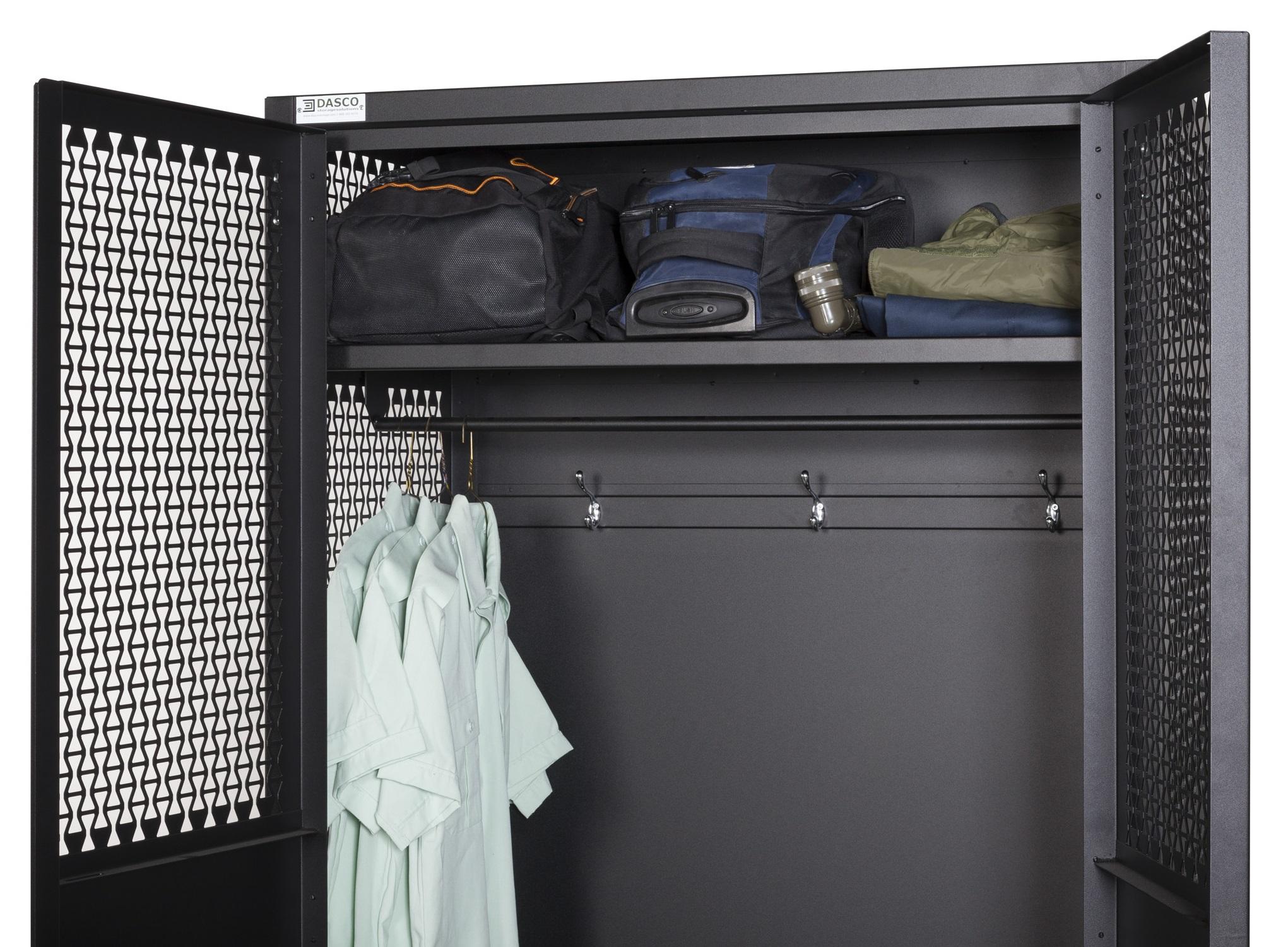 Open TA-50 Storage Locker With Shelves
