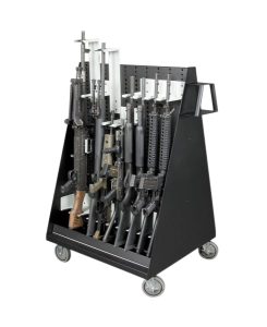 Weapon Storage Mobile Cart
