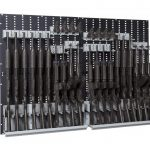 Weapon-Wall-Panel-Installed-Rack-with-rifles