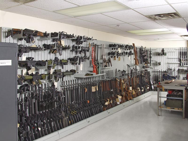 Expandable Weapon Rack Installation