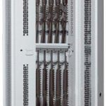 84-Inch High Partially Open Bi-Fold Weapon Rack