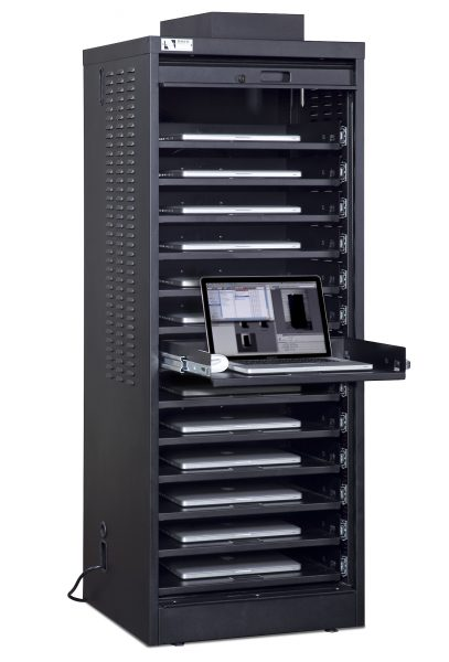 Single-Wide Laptop Cabinet 14-Capacity Demo