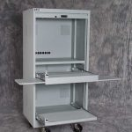 Secure Computer Cabinet Open 2