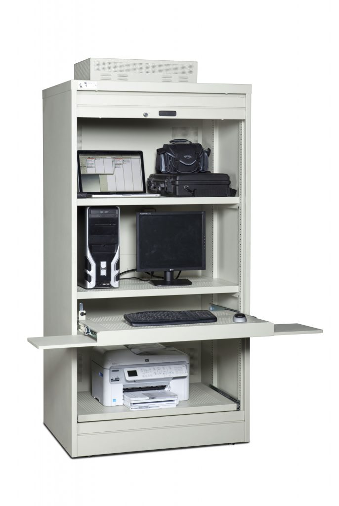 Ultimate PC Storage Cabinet-Open