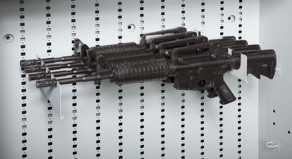 4-Capacity Horizontal Long Gun Mounts