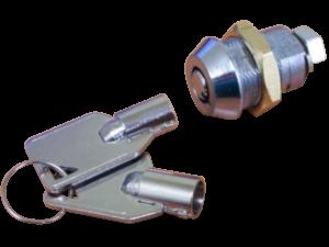 WESKO lock and key-Transparent