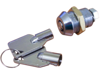 WESKO lock and key-Transparent