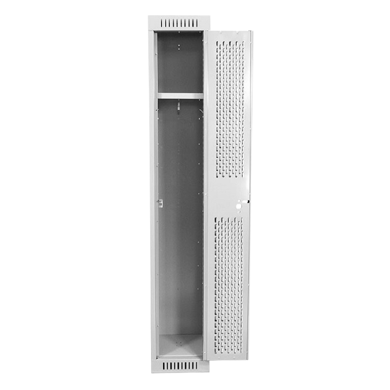 Open Event Locker with Perforated Door - Front View